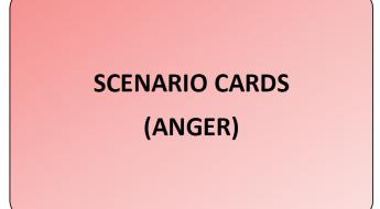 Emotion Scenario Cards (Anger)