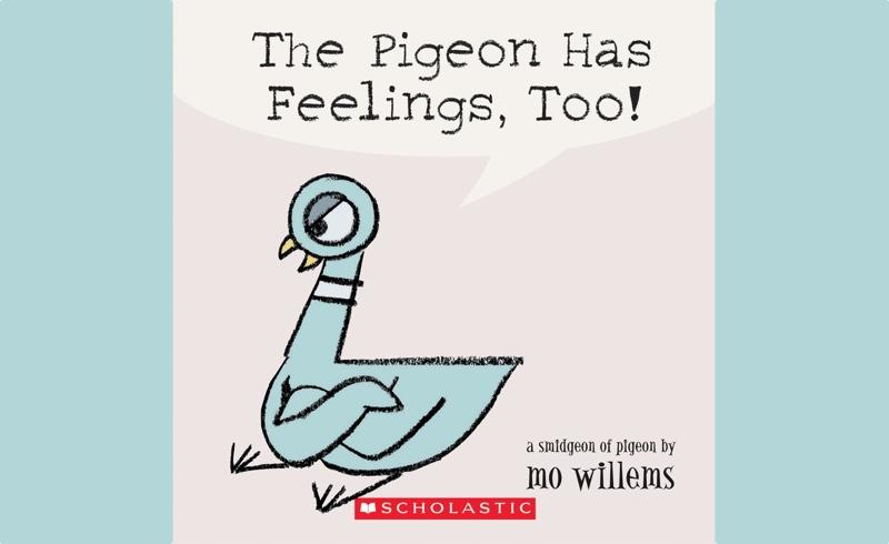 Pigeon Has Feelings