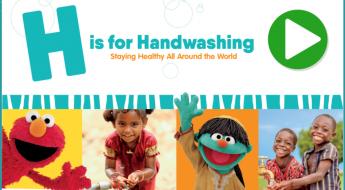 Hand Washing Sesame Street Style